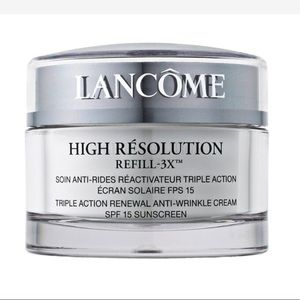 High resolution eye cream by Lancôme 🌹
